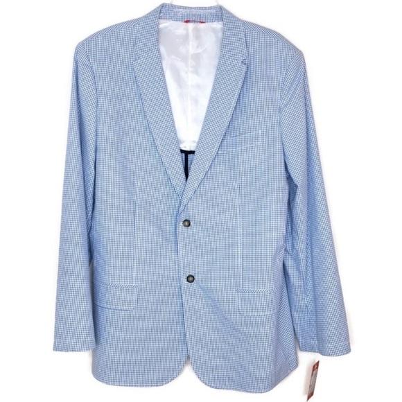Izod Other - Izod Gingham Sports Coat 🧥 Large NICE! 💎